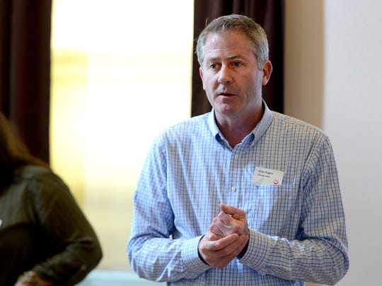 Brian Rogers, executive director of the Oregon Cultural Trust, spoke at a town hall meeting at the Gilbert House Children's Museum in October. Oregonians donated a record $4.4 million to the trust in 2014.