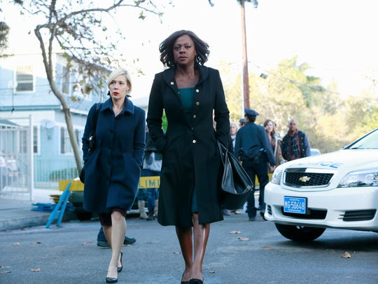 "Liza Weil, left, and Viola Davis in ""How to Get Away"