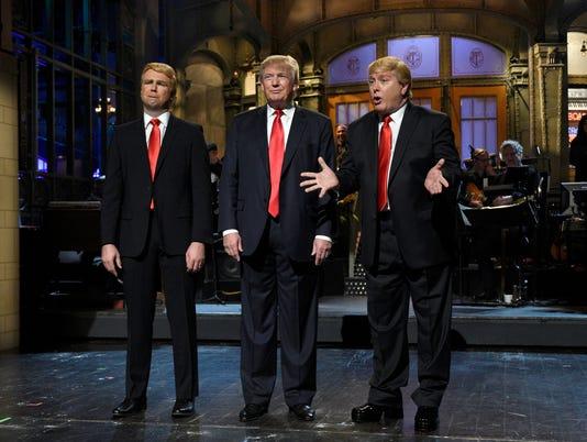 Taran Killam, Donald Trump, Darrell Hammond