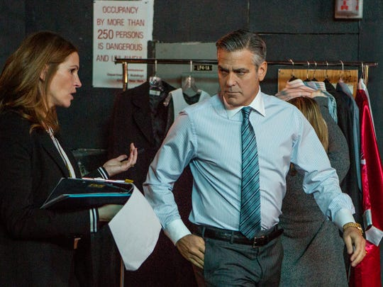 Julia Roberts and George Clooney star in Jodie Foster's 'Money Monster.'