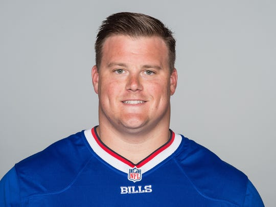 June 15, Orchard Park, NY: This is a 2015 photo of Richie Incognito of the Buffalo BIlls NFL football team. This image reflects the Bills active roster as of June 15, when this image was taken.  (AP Photo)