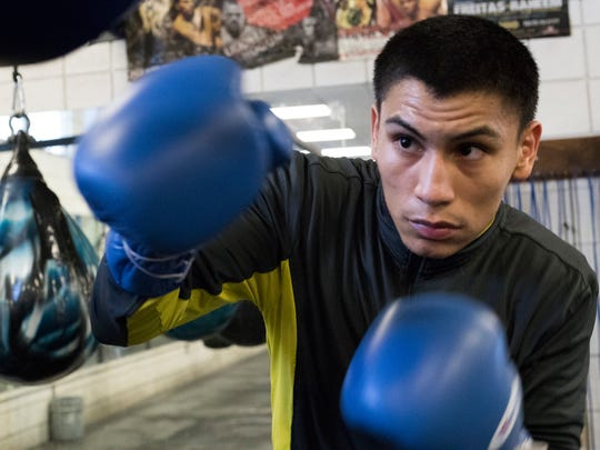 Vergil Ortiz, 19, is a prospect in the world of elite boxing. Ortiz integrates his love of music into his technical ability to box by using rhythm to counter his opponents. Ortiz will be the co-main event at Fantasy Springs Casino on the ESPN fight card February 22, 2018.