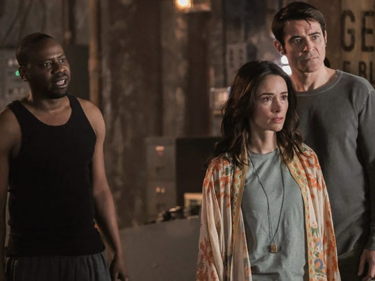 Time may finally be up for NBC's 'Timeless,' which stars Malcolm Barrett, left, Abigail Preston and  Goran Visnjic. Fan devotion helped save it from cancellation last year.