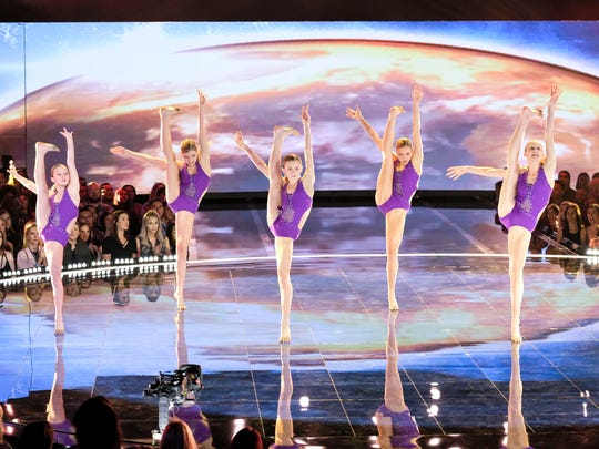 "WORLD OF DANCE -- ""Qualifiers"" --  Pictured: Iowa Girlz -- (Photo by: Justin Lubin/NBC)"