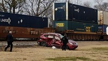 One person seriously injured in crash with train at Greenbrier crossing
