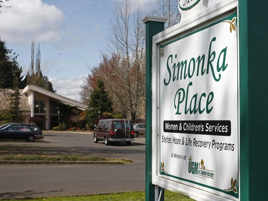 Simonka Place in Keizer is the Union Gospel Mission's