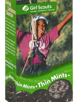 Thin Mints are one of the most popular flavors of Girl Scout cookies. Although the U.S. trademark registration for Thin Mints in connection with cookies was registered in 2011, the mark was first used in 1959, according to the registration.