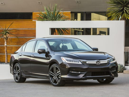 2016 Honda Accord is one of the country's most popular