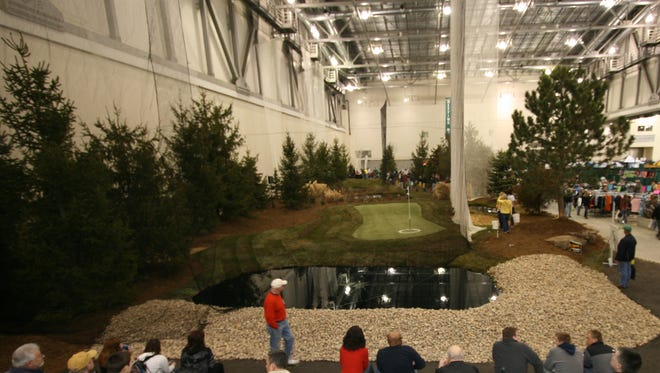 A look at a recent West Michigan Golf Show in Grand Rapids.