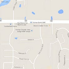 The accident occurred on SR 54 at Oak Grove Blvd.