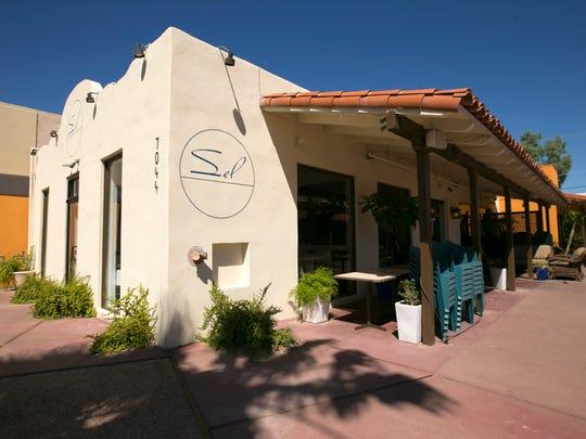 Exterior of Sel Restaurant in Old Town Scottsdale on September 15, 2016.