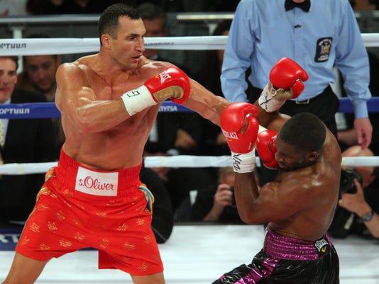 Boxing: Klitschko vs Jennings
