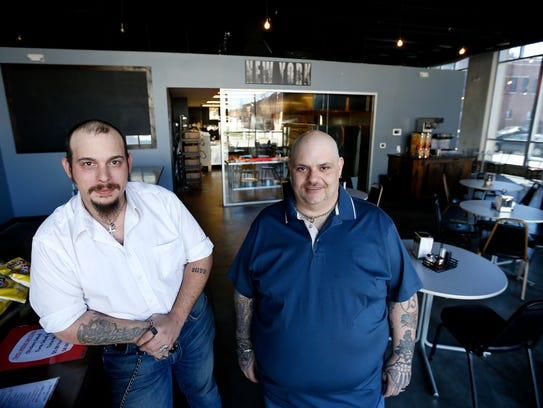 Kevin Mcmillan and Rob Brough opened New York Style Pizzeria in downtown Springfield at 210 S. Market Ave. earlier in April. The restaurant serves upstate New York-style pizza along with things like subs, garlic knots, and provolone sticks.
