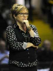 Former Vanderbilt and Xavier head coach Melanie Balcomb was named Purdue's senior associate head coach Tuesday