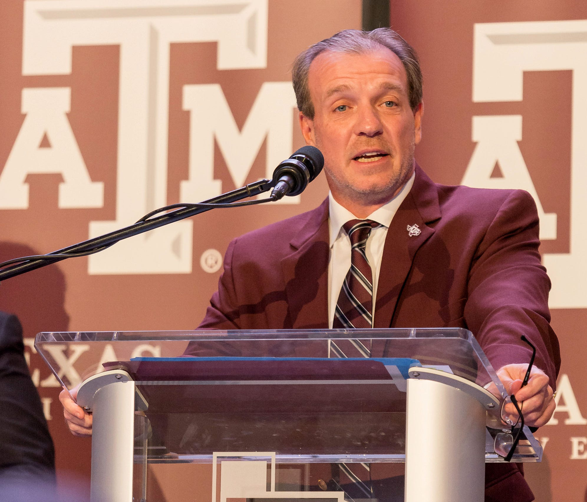 Texas A&M head coach Jimbo Fisher.