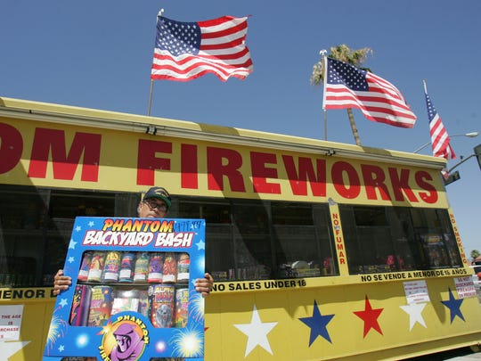 """Safe and sane"" fireworks can be sold and used in Cathedral City, Coachella, Desert Hot Springs and Indio."