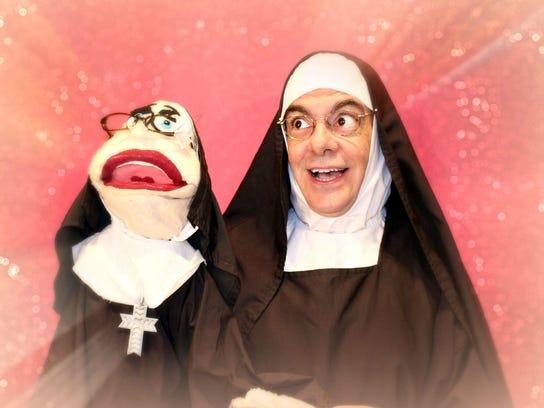 Tim-nun-puppet