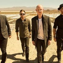 The Fray, pictured, will perform with American Authors at FireKeepers Casino Hotel.