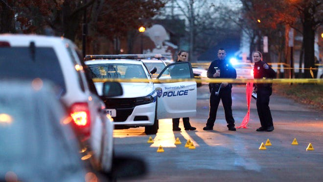 Police on scene of dog attack early Wednesday on Rockview Terrace.