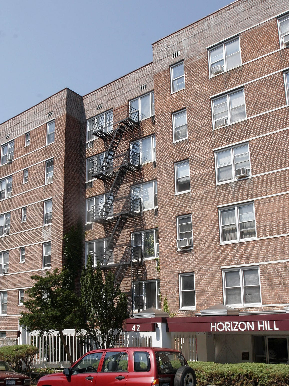 Apartment building at 42 Pine Street in Yonkers Aug.