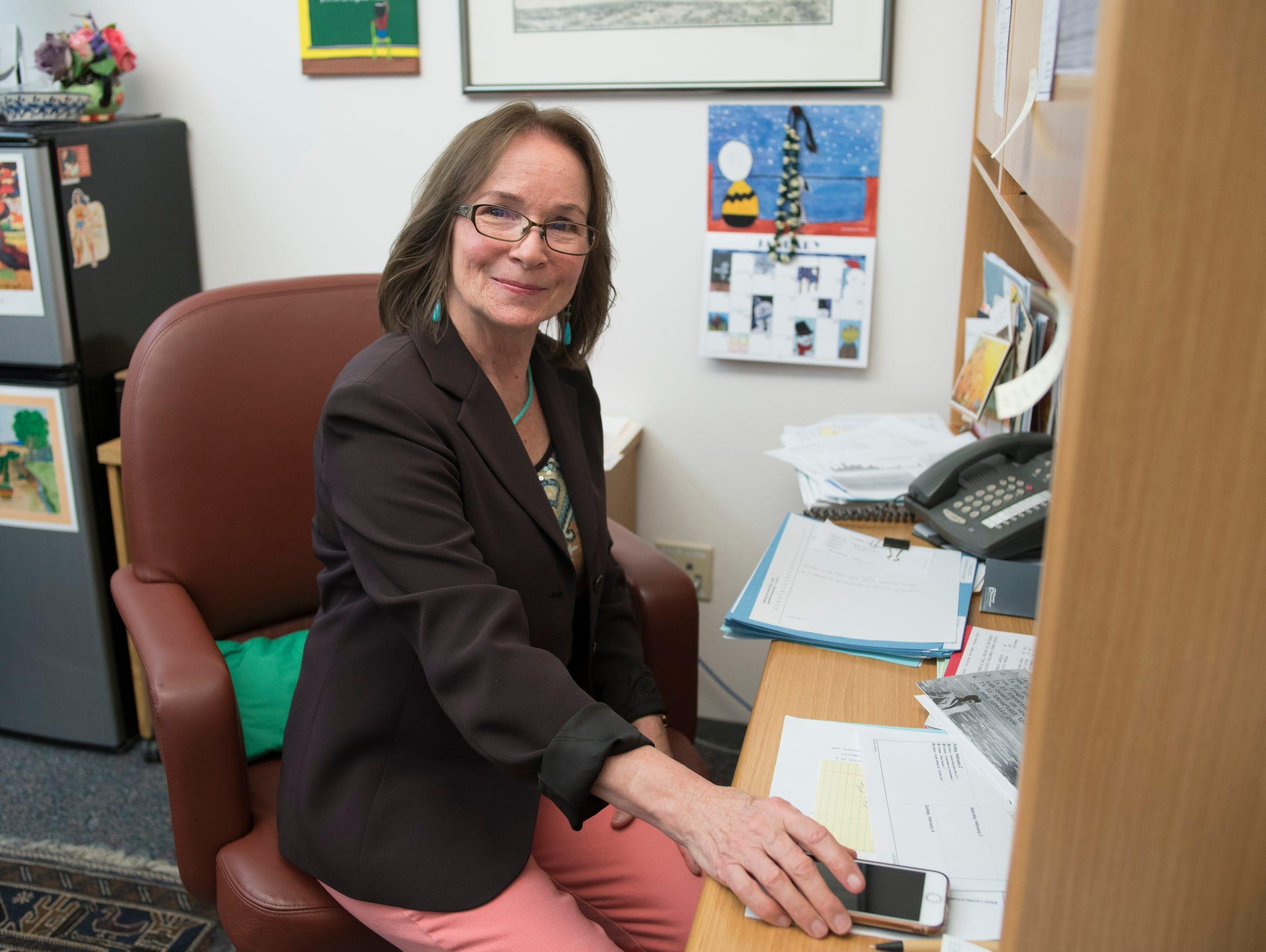 Mimi Stewart, New Mexico Senate majority whip, at the