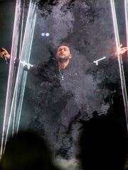 The Weeknd performs at Talking Stick Resort Arena May