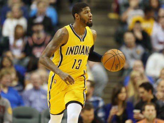 Paul George was selected to his third All-Star game