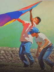 """Kite Day"" by Carol Eastman."