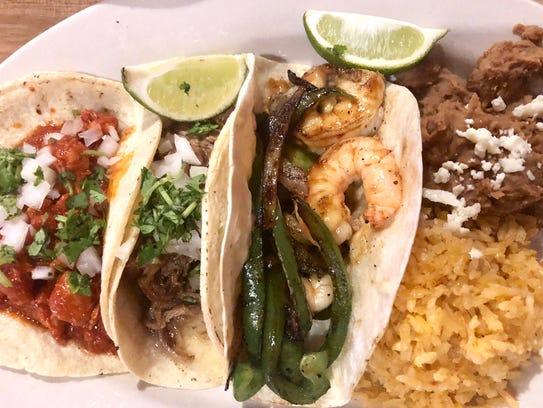 Street tacos at ZAZA Kitchen on Marco Island, including