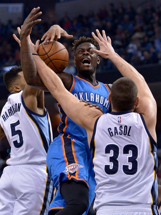 Anthony Morrow, Marc Gasol, Andrew Harrison