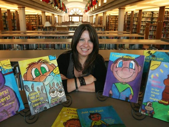 Cindy Dennis wrote a series of anti-bullying and child