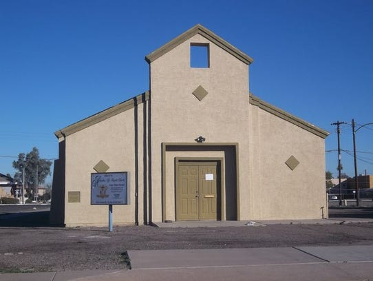 Higher Ground Church of God in Christ was built in