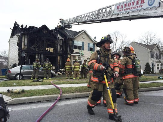 Fire significantly damaged a home in the 500 block