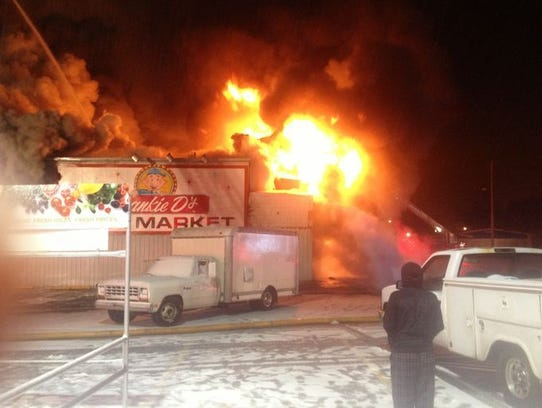 A Feb. 1, 2015, fire destroyed the former Ross Corner