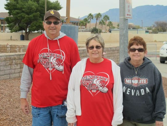 The 13th annual Mesquite Heart Walk took place Friday