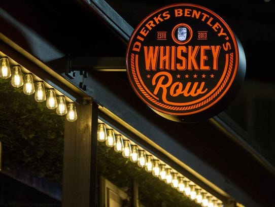 Dierks Bentley's Whiskey Row has three locations around
