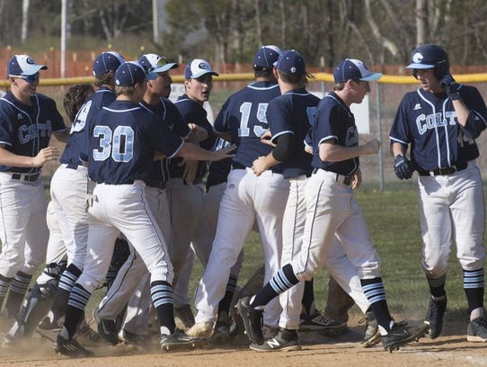 Christian Brothers Academy is shown after its win over