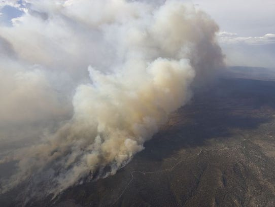 Arizona Wildfires 10 Of The Biggest Since 2002