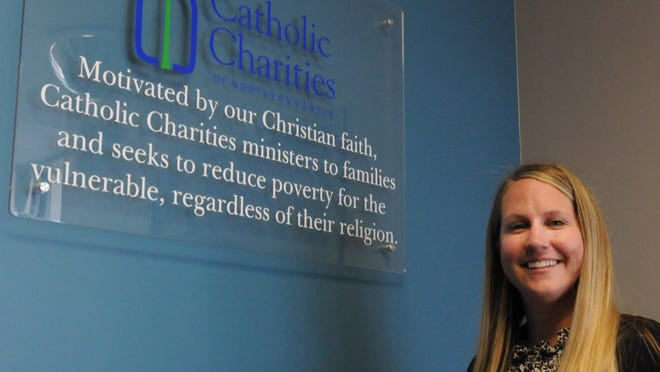 Megan Robl, of Salina, started her first week as the executive director of Catholic Charities of Northern Kansas, which works to reduce poverty in 31 counties in Kansas.