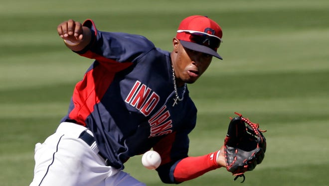 Francisco Lindor was hitting .281 with six homers, 19 swipes and 47 runs over 71 games at Double-A Akron.