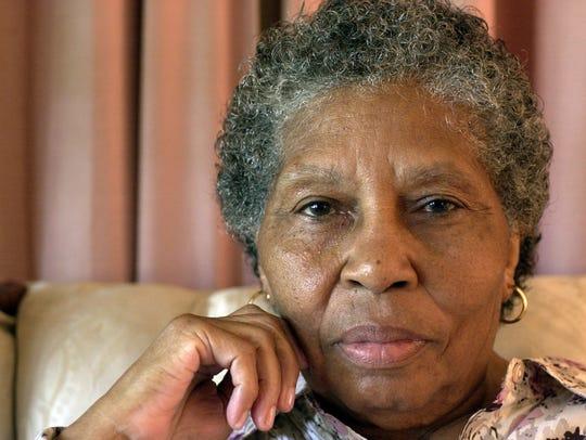 Civil rights pioneer Lillie Mae Bradford, on Aug. 25,