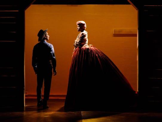 "Scott Sheppard and Jennifer Kidwell act in ""Underground"