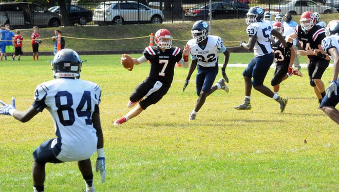 Tyler Liddy passed for 1,460 yards and 13 touchdowns for Glen Ridge this season.