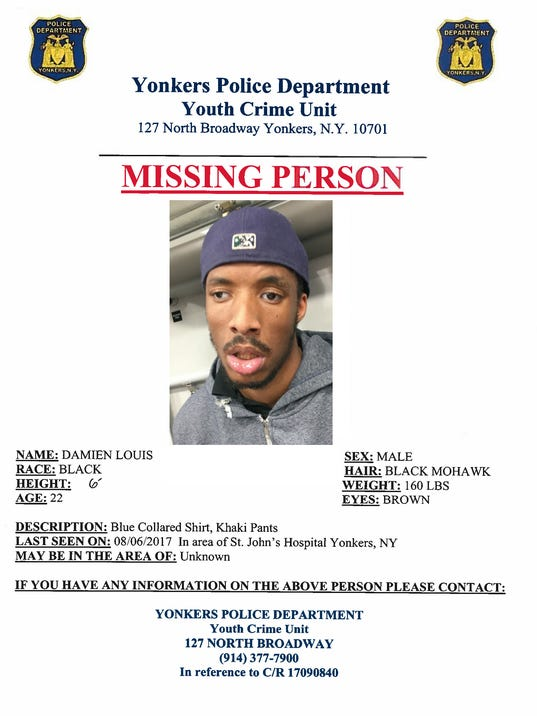 Damien Louis missing