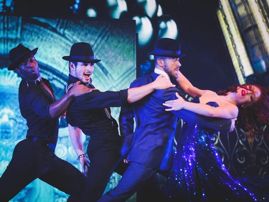 """On Sunday, the national tour of """"Dancing with the Stars:"""