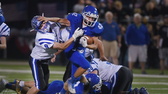 Sioux Falls Christian's Dawson Mulder breaks through