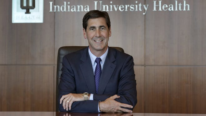 Incoming IU Health CEO Dennis Murphy joined IU Health in 2013 as chief operating officer.