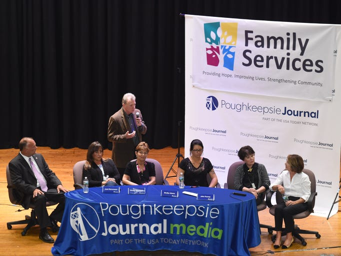The Poughkeepsie Journal Media Heroin Forum at the
