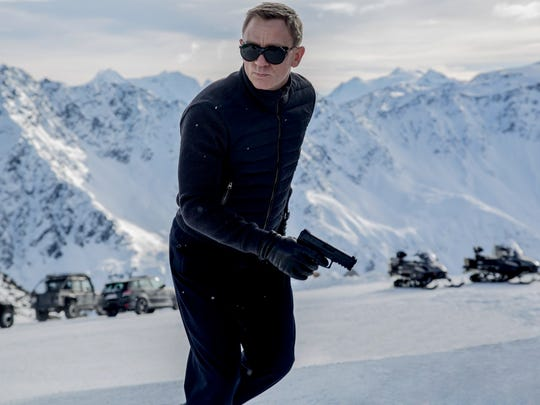 "Daniel Craig is back for another installment of the James Bond franchise in ""Spectre."""