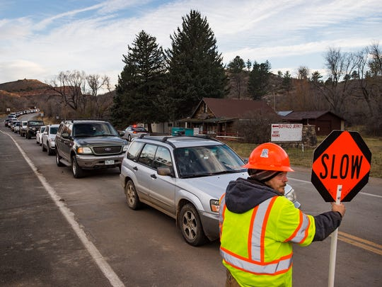 Northern Colorado Traffic Control employee Chris Ornelas